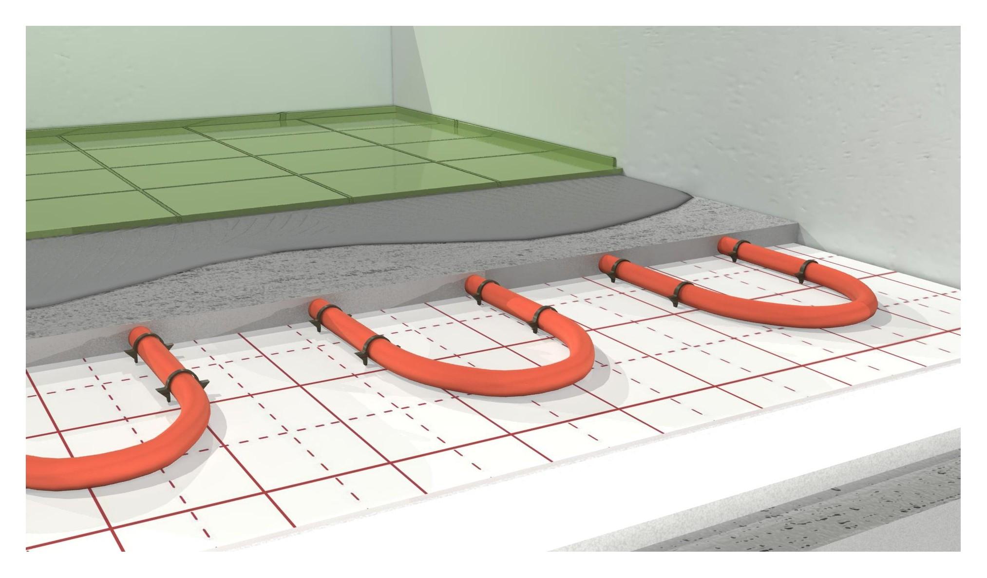 ogrzewanie podłogowe pod pompę ciepła